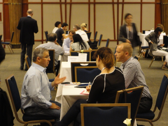 Business matchmaking conference